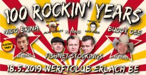 Fishnet Stockings @ 100 Rockin' Years, Werftclub Erlach BE